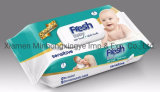 Lowest Price High Quality Wholesale Alcohol-Free Safe and Nature Baby Wet Wipes