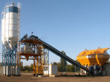 Ready-Mix Concrete Batching Plant with Sicoma Twin Shaft Mixer