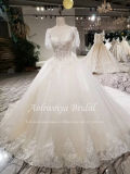 Aolanes Plain Lace Mermaid Strapless Wedding Dress 110813