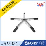 Five Star Chair Base Made by Aluminum Die Casting OEM