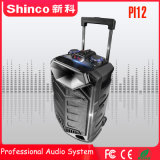 Shinco Rechargeble Bluetooth Private Mode Portable Trolley Wireless 12′′ Multimedia Speaker