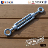 Drop Forged Steel Wire Rope Turnbuckle Iwith Eye Hook