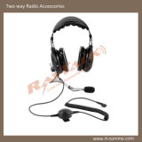 Over The Head Industrial Heavy Duty Headset for Motorola Cp140/Cp200