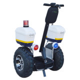 1266wh 72V 4000W Police Model Electric Scooter for Airport