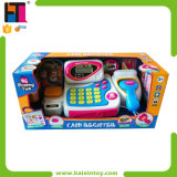 Pretend Supermarket Set Plastic Kids Play Cash Register