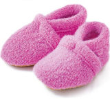 Pink Eco Knitted Soft Comfort Custom Baby Shoes for 0 - 2 Years