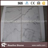 Cheap White Marble Guangxi White Marble for Flooring Tile