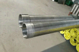 304L Stainless Steel Wedge Wire Screen for Well Drilling