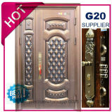 2017 China Top Quality Exterior Metal Steel Security Door (EF-S132)