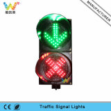 Toll Station Stop Go 200mm LED Traffic Signal Light