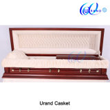 Solid Cherry Best Seller American Made Coffin and Casket