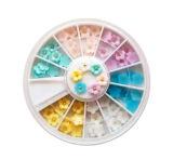 Nail Art, Nail Beauty, 3D Nail Deco, Nail Art Resin Flowers
