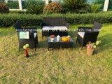 Outdoor Leisure Rattan Sofa Set Garden Steel Furniture