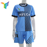 Wholesale Custom Comfortable Blue Short Sleeve Rugby Jersey Set for Men Polo Shirt