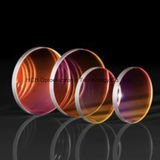 50.8mm Diameter, 3mm Thick Nir I Ar Coated Sapphire Lens