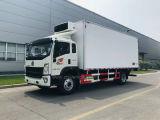 Sinotruck HOWO 4*2 Man Engine 10-15 Ton -5 Degree to -15 Degree Refrigerator / Freezer Vehicles for Sales