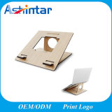 Laptop Computer Stand Bamboo Wood Holder Desk Portable Notebook Stand