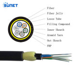 24f 24core Aerial Fiber Optic Cable Price ADSS Cable