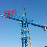 Flat Top Mt7527-20t: New Designed Model with 75m Jib Tower Crane