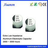 Hot Sale 220UF 25V Chip Aluminum Electrolytic Capacitor