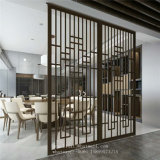 New Design Custom Decorative Metal Screens for Stainless Steel Room Divider