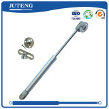 Furniture Air Cylinder White Spring with Brackets for Cabinet Door 50n