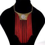 Classical Vintage Bohemia Retro Ethnic Trends Alloy Necklace Swith Earrings, Fashion Jewelry Set