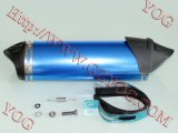 Yog Motorcycle Fitting Exhaust Muffler Escape Multi Color Blue Red Green Silver Snake Black Silenciador Accessories