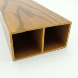 Rectangular Tube 10050 Interior Ceiling Decoration Wood Plastic Composite Profile