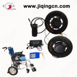 High Strength 36V 250W Brushless Motor Electric Wheelchair with Ce