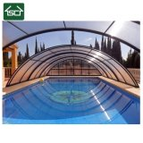 Outdoor Aluminum and Polycarbonate Telescopic Swimming Pool Cover