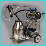 Cheap Electric Vacuum Pump Single Bucket Milking Machine