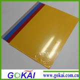 Milk White and Colorful 0.6mm PVC Rigid Sheet for Album
