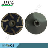 "100X5/8"" Diamond Resin Filled Cup Wheel for Granite Grinding"