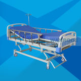 Bam302 Wholesale Hospital Equipment Clinic Medical Use Movable ABS 3 Crank Manual Bed