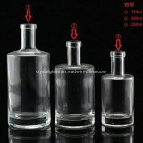 Classic Round Shape Vodka Glass Bottle Whisky Glass Wine Bottle