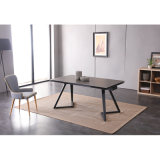 Modern Extension Table Dining Living Room Home Furniture
