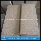 Flamed G682 Sunset Gold/Yellow Outdoor Granite Tiles Flooring
