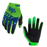 Green&Blue Wear-Proof Motorcycle off-Road Racing Gloves (MAG61)