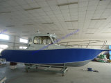 Aluminum Alloy Fishing Boat in Big Sea