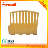 Traffic Safety Facilities Durable Plastic Road Barrier