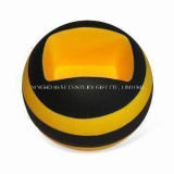 Round Shape Mobile Phone Holder PU Foam Gift Stress Ball