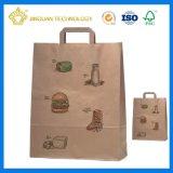 Customize Brown Kraft Paper Bag for Food Storage