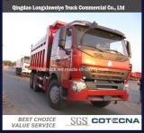 HOWO 6X4 Dump Truck with Middle Tipper System