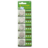 Tianqiu Cr2025 Lithium Button Cell Battery