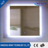 New LED Mirror Wall Mounted Lighted Vanity Silver Mirror