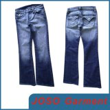 Women Stone Washed Denim Jeans (JC1041)