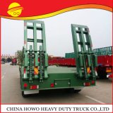 Chinese Popular New Model Cheap Discount Price of Low Bed Low Boy Semi Truck Trailer with Leaf Spring for Sale