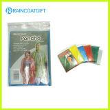 Cheap Disposable Emergency PE Rain Poncho (RVC-125)