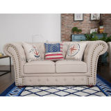 Chesterfield Modern Classic Designer Fabric Sofa for Living Room